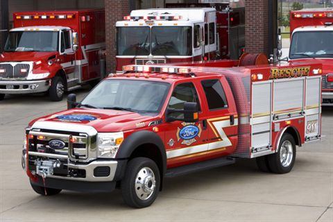 Ford Fire Vehicle