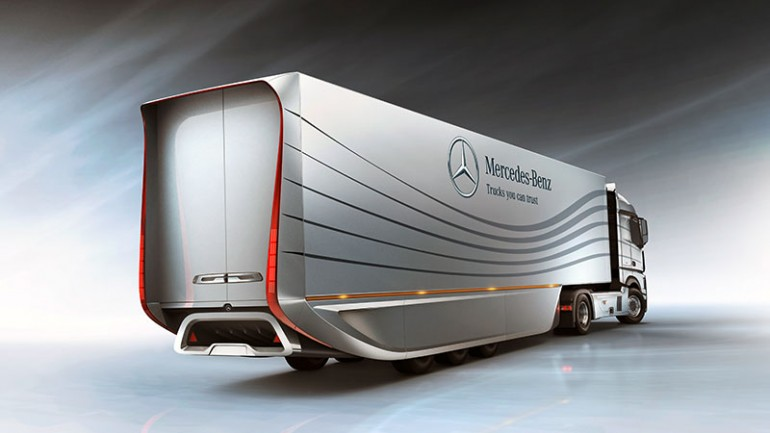 Mercedes Aero Trailer