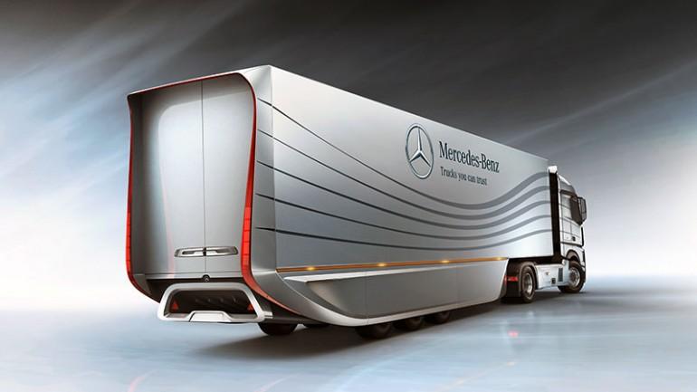 Mercedes Aero Trailer